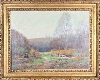 Clifton A. Wheeler (1883-1953) American, O/C