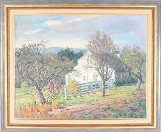 Frank C. Herbst (1912-1970) Amer, Oil / Canvas