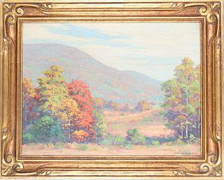 Francis Dixon (1879 - 1967) American, Oil / Canvas