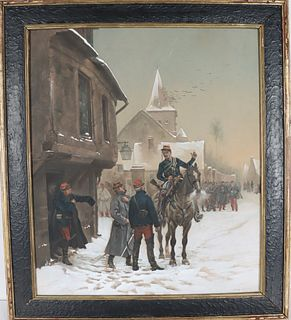 Edouard Jean Baptiste Detaille (1848-1912) French