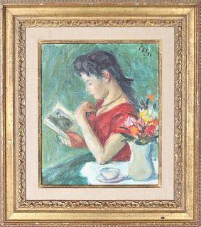 Robert Philipp (1895 - 1981) NY, Oil on Canvas