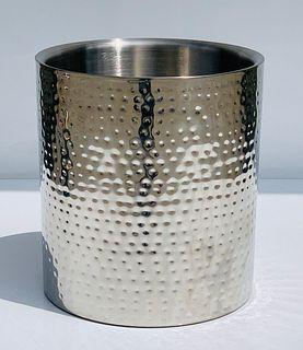 Stainless Steel Waste Basket by Vollrath