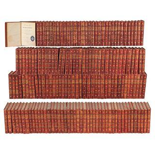 COLECCIÓN BIBLIOTECA CLÁSICA MADRID, SIGLO XIX. Algunos autores: Virgilio, Bacon, Tito Livio, Platón, Séneca, Schiller. Pzs: 157.   BIBLIOTECA CLÁSICA