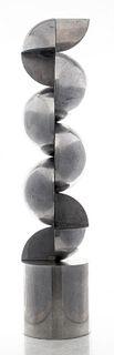 Gottfried Honegger Abstract Chrome Sculpture, 1968