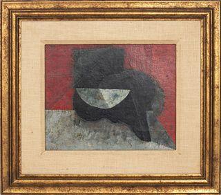 Armando Morales Abstract Oil on Canvas, 1973-77