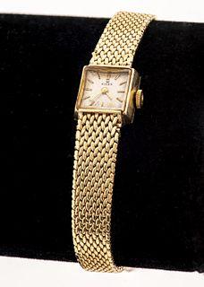 Vintage Rolex Ladies 14K Yellow Gold Dress Watch