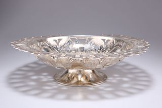 A SILVER-PLATED COMPOTE,?by The Duchess of Sutherland's Cripples Guild, pie