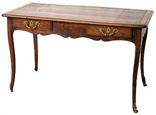 Louis XV Provincial Bureau Plat Desk