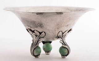 Erik Magnussen Art Deco Sterling Silver Bowl