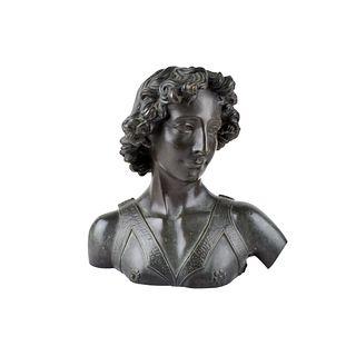 Neoclassical Bronze Bust