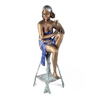 Chiparus Style Sculpture