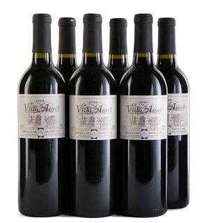 Six Viña Atuel Finca Norte 1999 bottles. Category: red wine. Mendoza Argentina. Bronze medal 2000 from the International Wine Challenge- London. Level