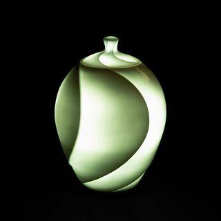 Ishii Yasuyuki, Porcelain Lidded Table Lamp