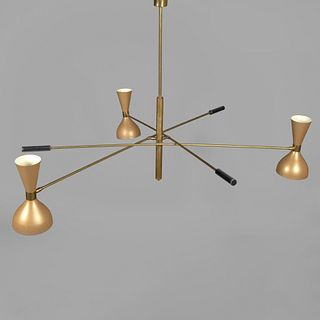 Manner of Arteluce, Three Prong Ceiling Light