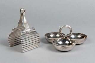 Christofle, Group of Two Silverplate Items