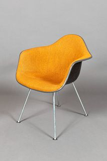 Eames for Herman Miller, Upholstered Shell DAX Chair, 1973