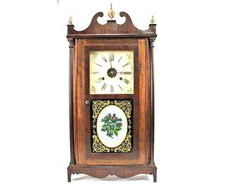 19th CENTURY AMERICAN MANTEL CLOCK