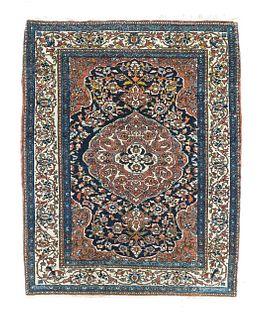 Isfahan Rug, 3'5'' x 4'6''