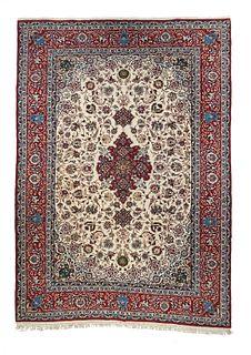 Isfahan Rug, 6'7'' x 9'8''