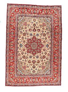 Isfahan Rug, 9'7'' x 14'1''