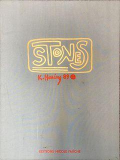 Keith Haring - Stones Portfolio Cover