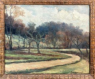 Charles Jacquemot - Autumn Trees
