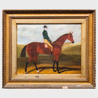 English School: Horse and Rider