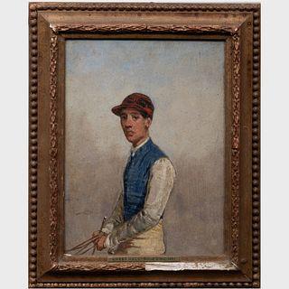 Harry Hall (1814-1882): Portrait of the Jockey Ralph Bullock