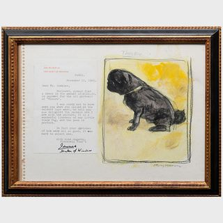 Henry Koehler (1927-2018): Sketch of Minoru