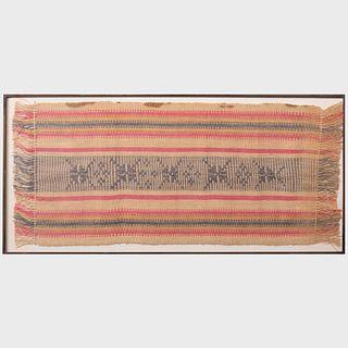 Framed Flatweave Textile