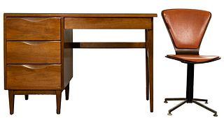 MCM American of Martinsville Wood Desk