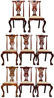 Chippendale Style Dining Chair Set