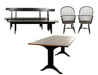 David Smith and D. R. Dimes Dining Set