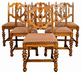 Grand Rapids Chair Co. Spanish Renaissance Dining Table and Chairs