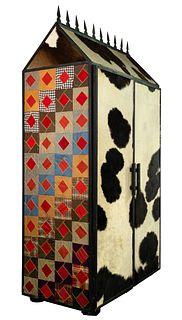 Cowhide Cabinet