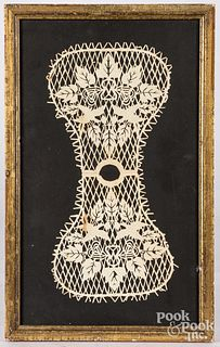 Pennsylvania scherenschnitte, 19th c.