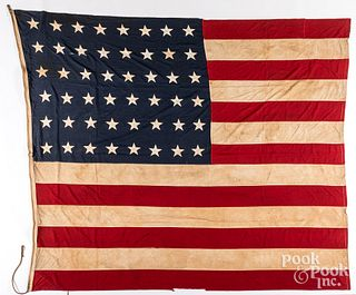 Two Large American flags, ca. 1896