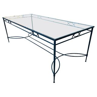 Amalfi Outdoor Dining Table by Janus et Cie, 8 ft Long