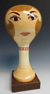 Stangl Pottery Hat or Wig Stand