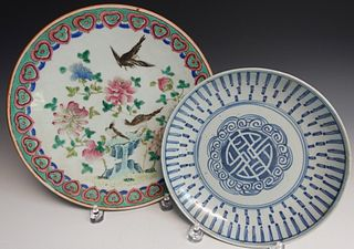 Two Japanese Plates