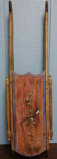 Victorian Painted Sled