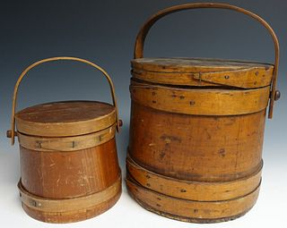 Two Antique Firkins