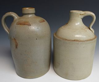 Two Antique Stoneware Jugs