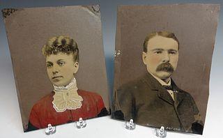 Pair of Large Tintypes