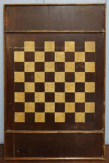 Antique Painted Gameboard