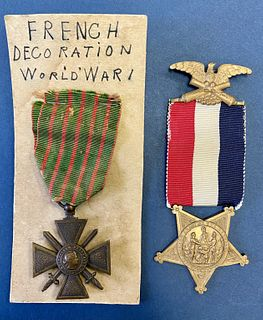 Two Military Medals