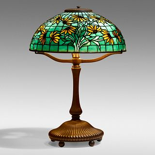 Tiffany Studios, Black-eyed Susan table lamp