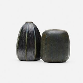 Martin Brothers Pottery, Miniature vases, set of two