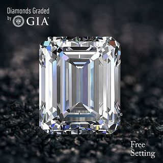 3.76 ct, D/IF, Emerald cut GIA Graded Diamond. Appraised Value: $368,000