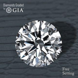 1.84 ct, D/FL, TYPE IIa Round cut GIA Graded Diamond. Appraised Value: $77,000